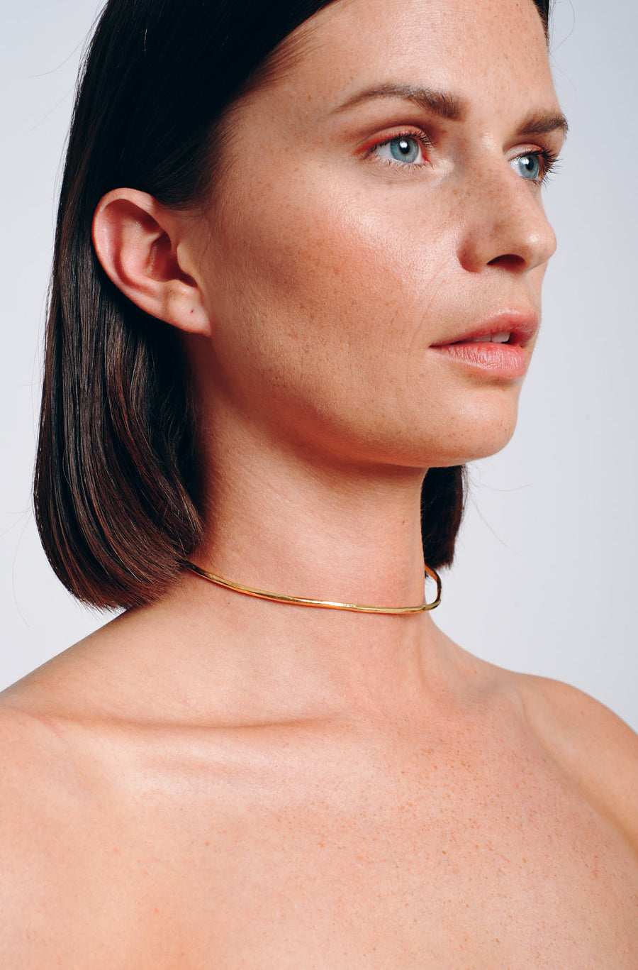 Imperfect choker brass
