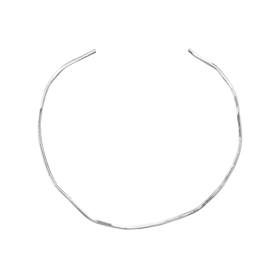 Imperfect choker silver
