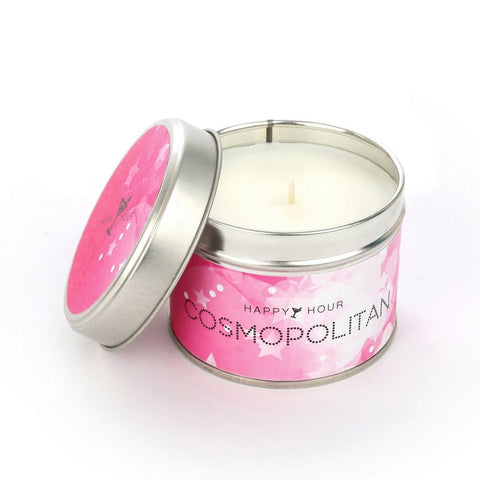 Cosmopolitan Scented Candle Tin