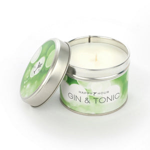 Gin & Tonic Scented Candle Tin