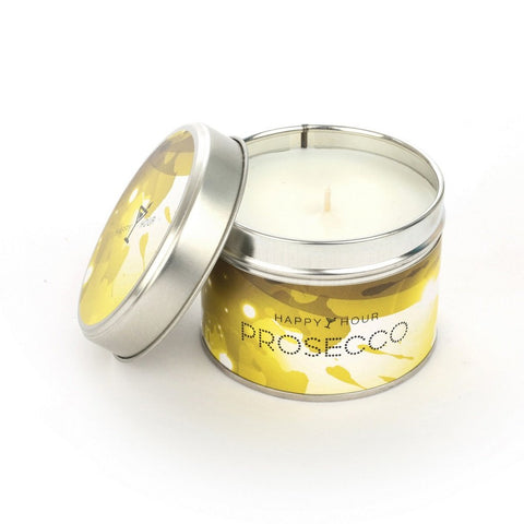 Prosecco Scented Candle Tin