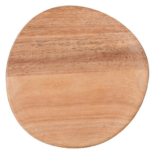 Small mix & match plate for dining settings in acacia wood by räder
