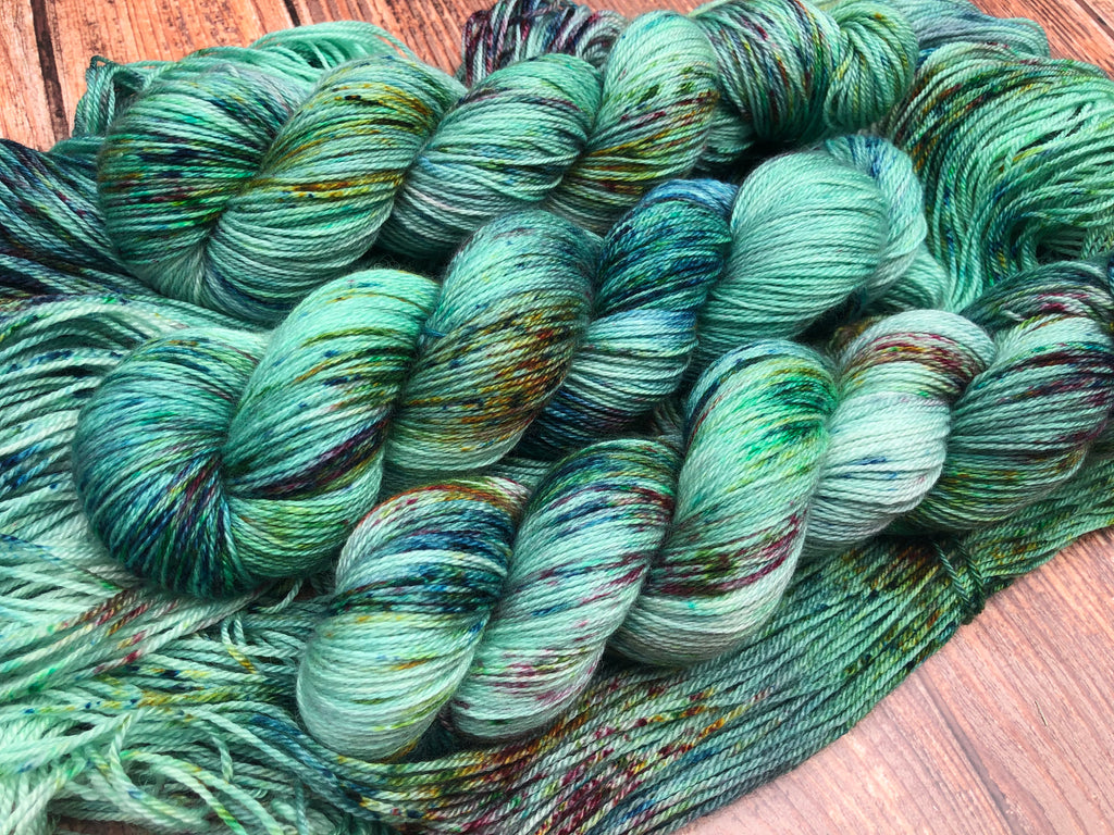 Channing on BFL CashSilk Sock
