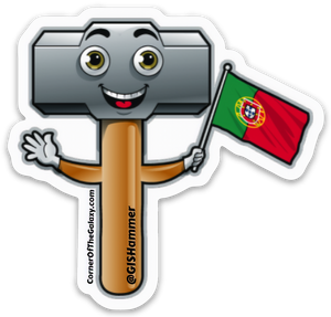 Portuguese Hammer Stickers