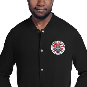 JM Embroidered Champion Bomber Jacket