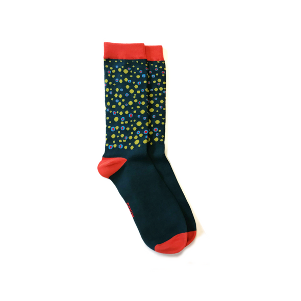 Fish Skin Socks - Brook Trout