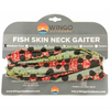 Fish Skin Neck Gaiter - Rainbow Trout