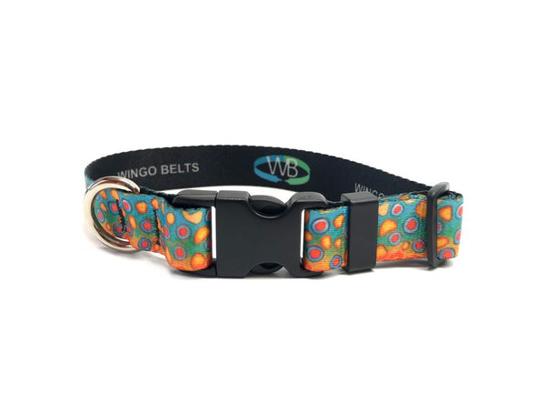 Dog Collar - DeYoung Brook Trout