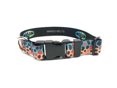 Dog Collar - DeYoung Brown Trout