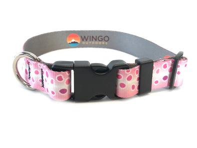 Dog Collar - Pink Trout