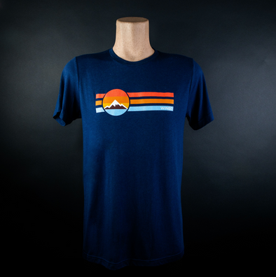 Retro T-Shirt - Navy