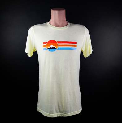 Retro T-Shirt - Yellow