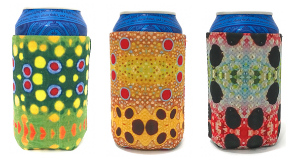 Fish Skin Coozie 3-Pack - Fresh