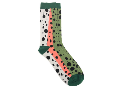 Fish Skin Socks - Rainbow Trout
