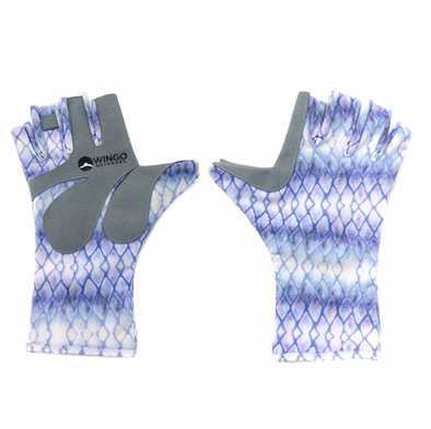 Fish Skin Casting Gloves - Tarpon