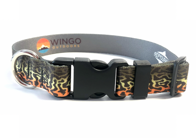 Dog Collar - RepYourWater Tiger Trout
