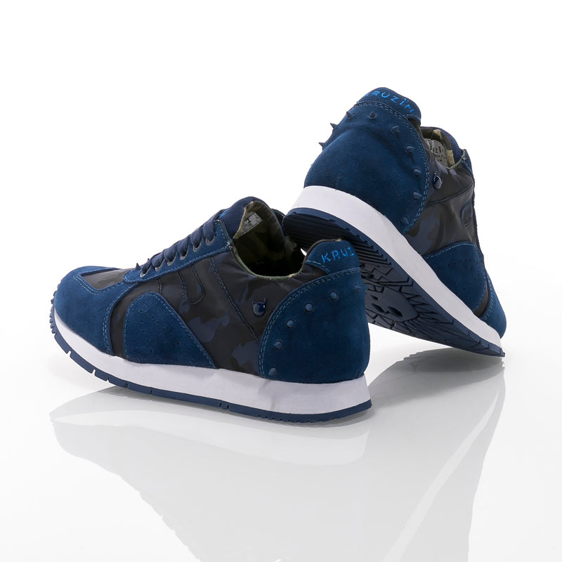 Boston 2.0 Camo Dark Blue White W