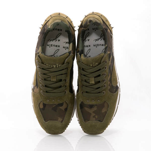 Boston 2.0 Camo Dark Olive White M