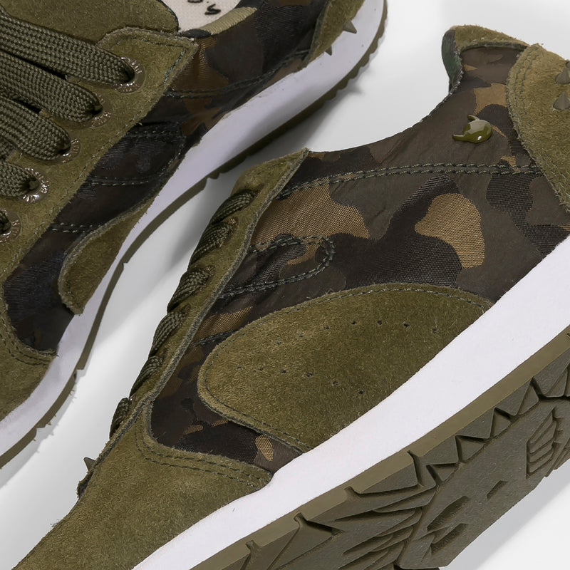 Boston 2.0 Camo Dark Olive White W