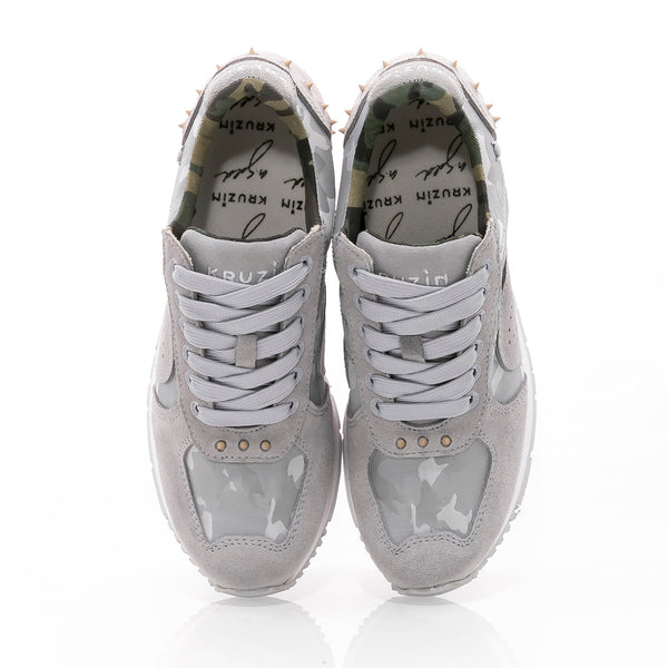 Boston 2.0 Camo Grey White W