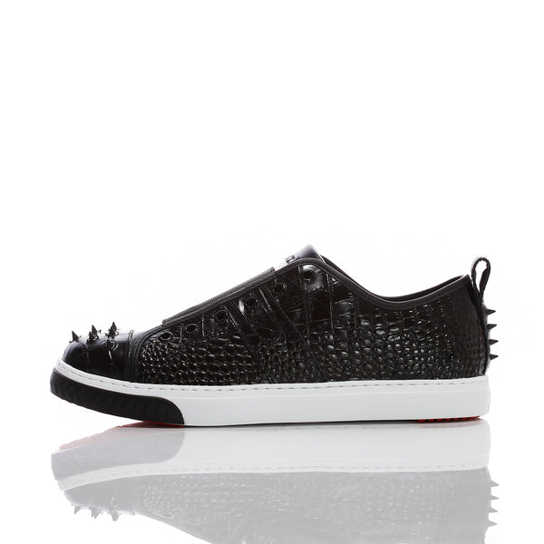 Crazy Horse Lo Black Croco M