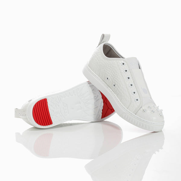 Crazy Horse Lo White Croco M