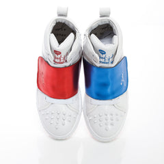 Velcro Horse White Blue Red M