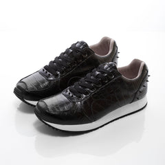 Boston Black Croco