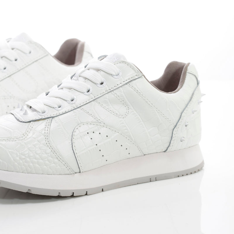Expensive White Croco Sneakers