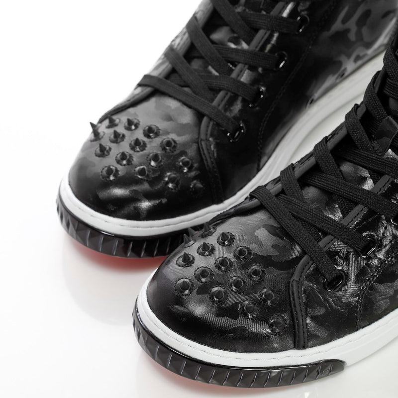 Women´s Neo Crazy Horse 2.0 Black Camo - High Top Leather Sneakers