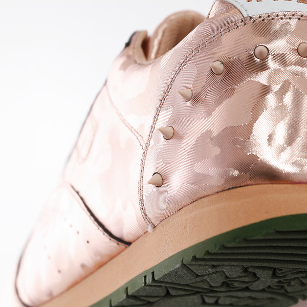 Boston Camo Rose Gold Sneakers
