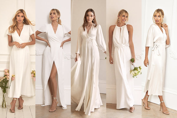 5 Elegant Civil Wedding Dresses