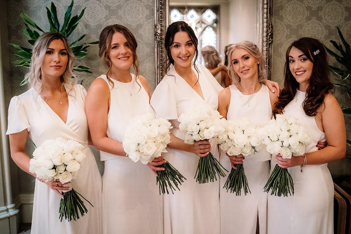 The perfect ivory bridesmaid dresses