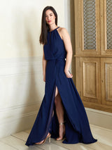 Aria navy dress
