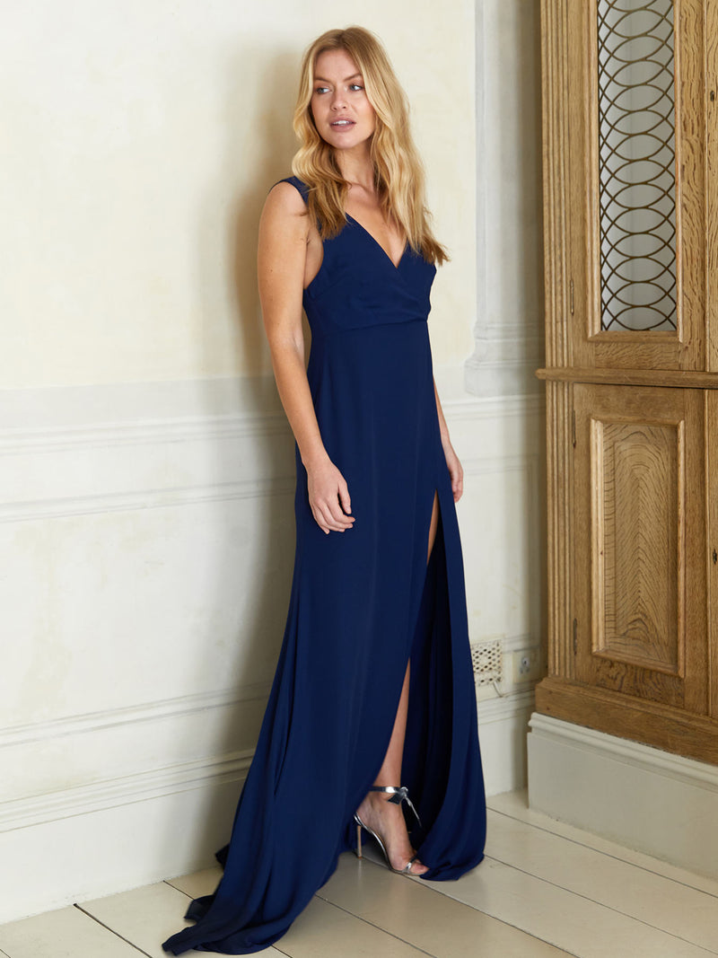 Candice navy dress