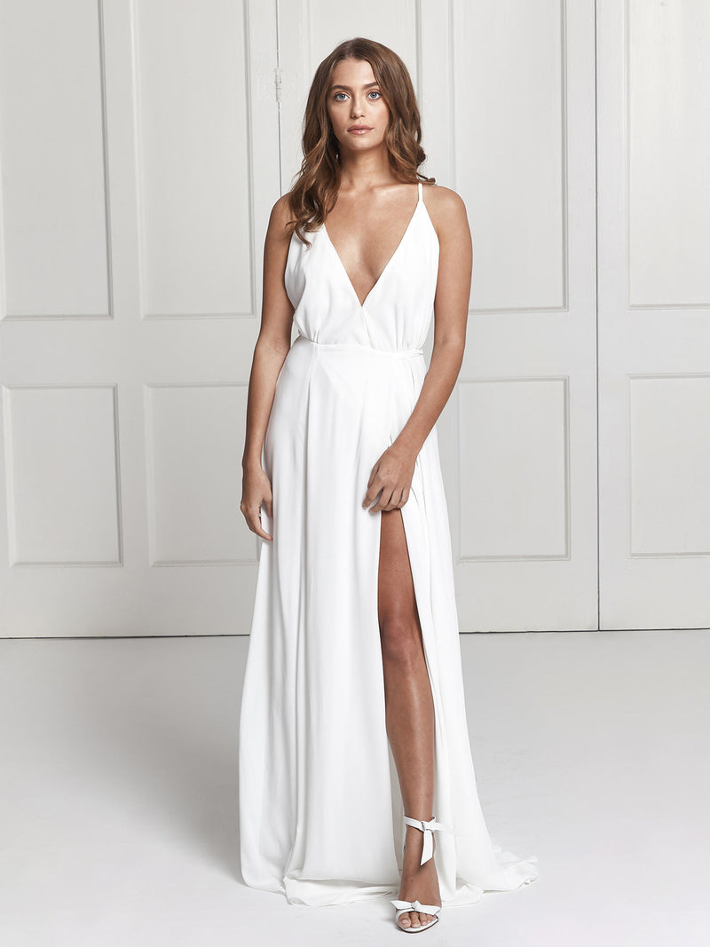 Wedding Wrap Dress