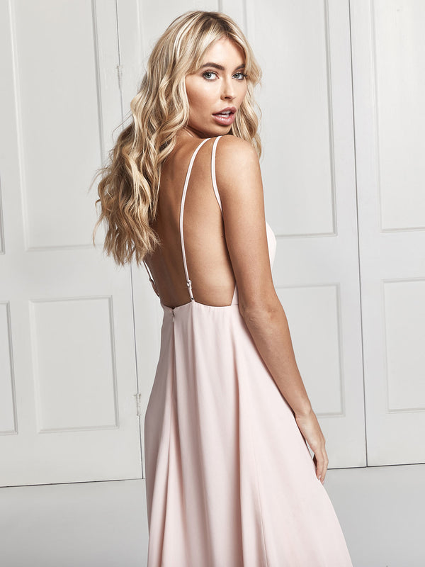 Sienna blush dress