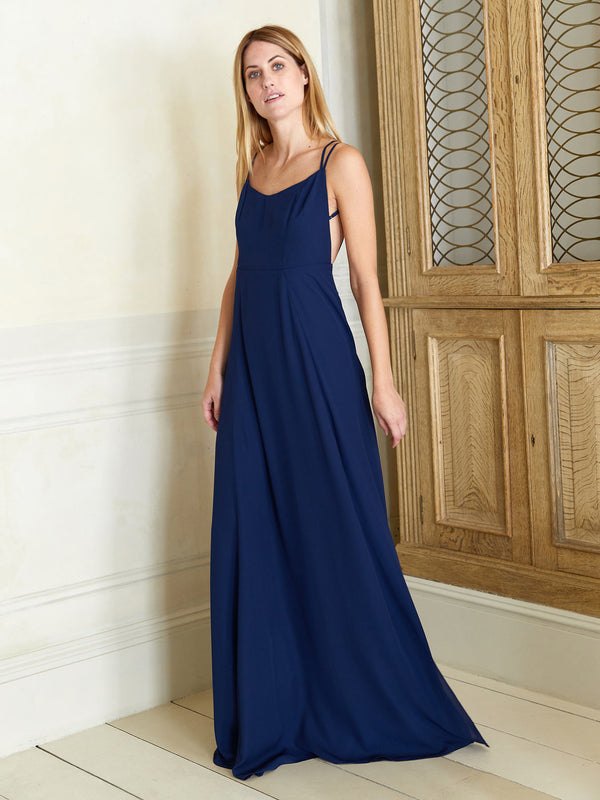 Sienna navy dress