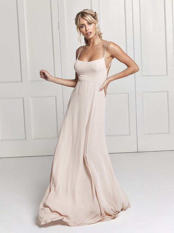 Sienna dress - Nude
