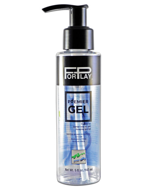 Forplay Premier Gel Lubricant - 5 Oz Pump Bottle