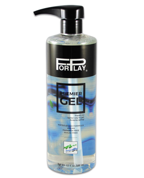 Forplay Premier Gel Lubricant - 17 Oz Pump Bottle