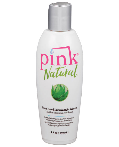 Pink Natural Water Based Lubricant For Women - 4.7 Oz