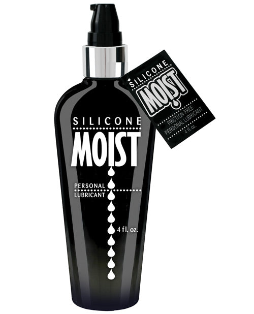 Moist Silicone Lube - 4 Oz Pump Bottle