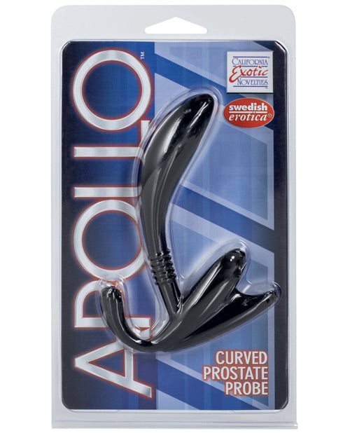 Apollo Curved Prostate Probe - Black