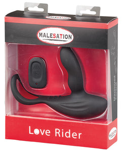 Malesation Remote Control Love Rider - 11 Functions Black