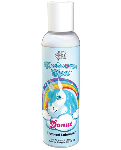 Unicorn Spit Donut Flavored Lubricant - 4.6 Oz Bottle