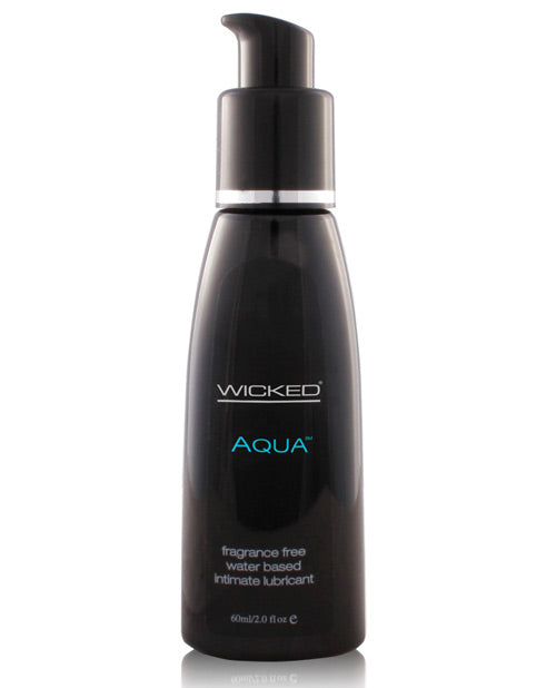 Wicked Sensual Care Aqua Waterbased Lubricant - 2 Oz Fragrance Free