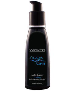 Wicked Sensual Care Chill Cooling Sensation Waterbased Lubricant - 2 Oz