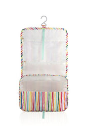 ORLA TRAVEL HANGING TOILETRY BAG STRIPE