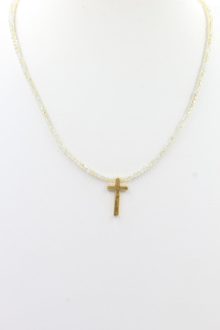 Lindsay Cross Necklace